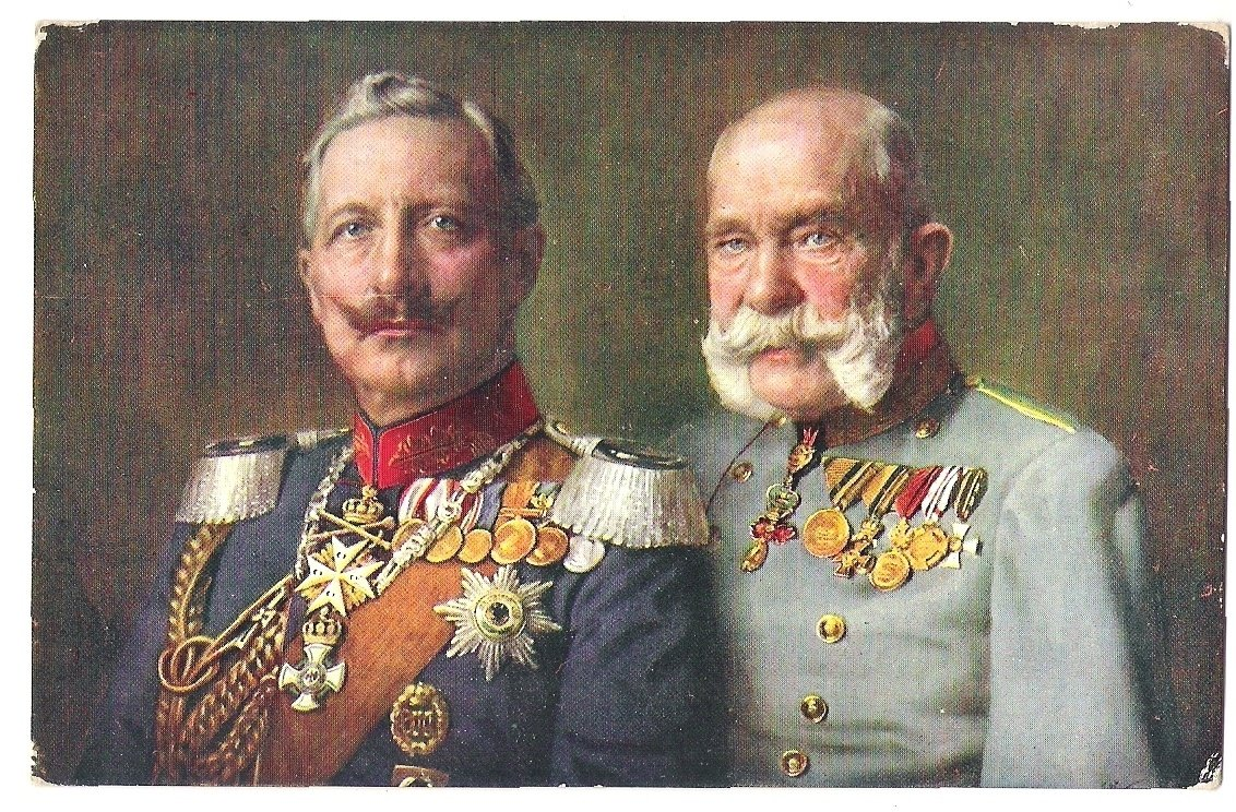 Franz Josef and Wilhelm in uniforms