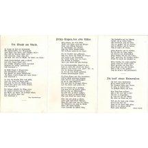 3rd register of advertising postcards - Franz Joseph, Wilhelm