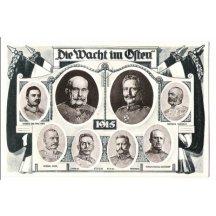 Franz Joseph , Wilhelm and representatives of monarchy