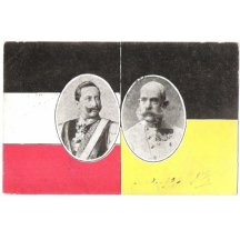 Franz Joseph and Wilhem, flags of countries