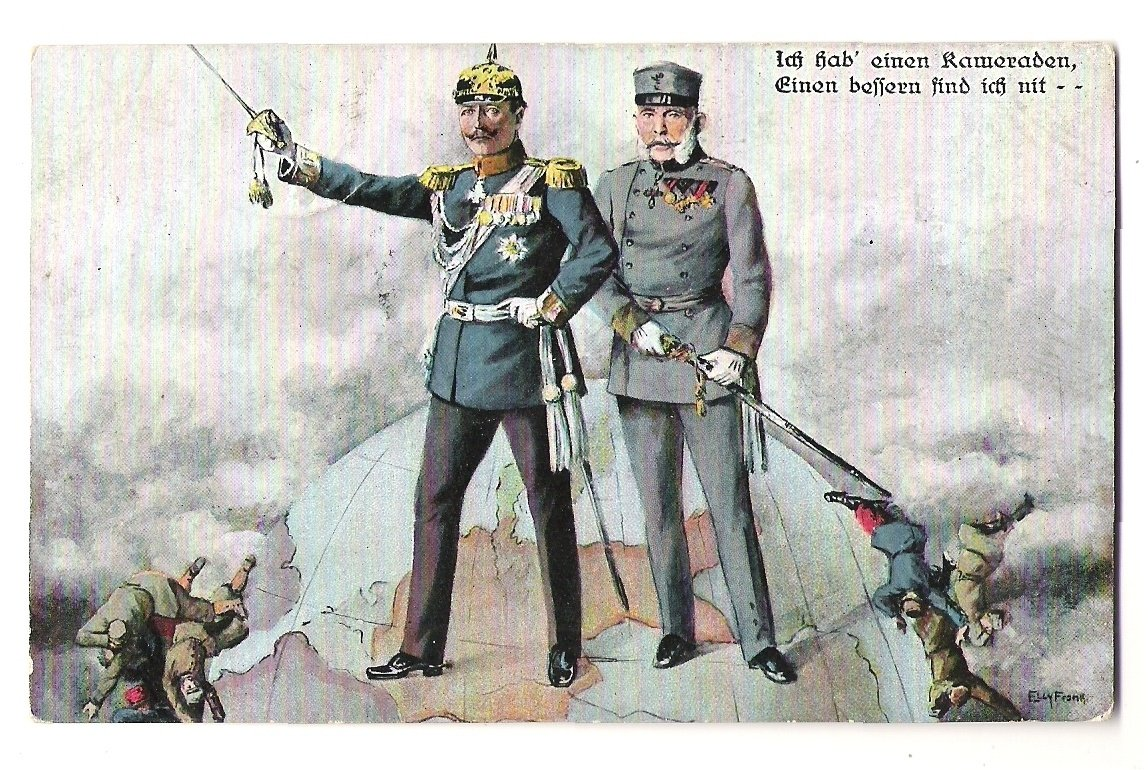 Wilhelm and Franz Joseph , walking around the world