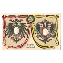 German and austrian eagle - Franz Joseph and Wilhelm