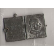 Miniaturní knižečka s Franz Josefem - otevřená