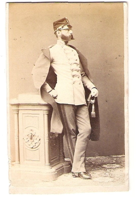Opírající se Franz Joseph