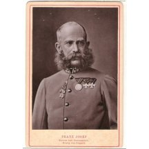 Mimořádné deskové foto Franz Josefa