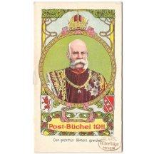 Franz Josef, Poštovní knížka 1911