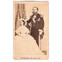Maximilian a Carlotta