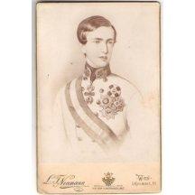 Fotografie mladého císaře Franz Josefa, Vídeň