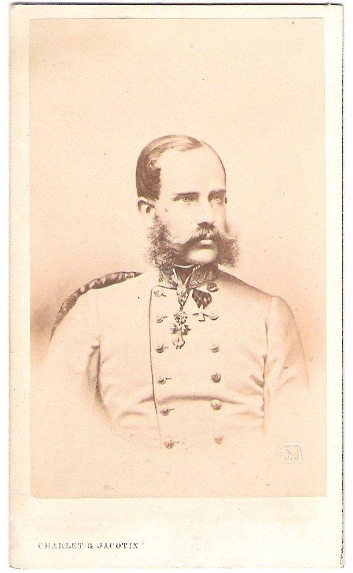 Franz Joseph v uniformě