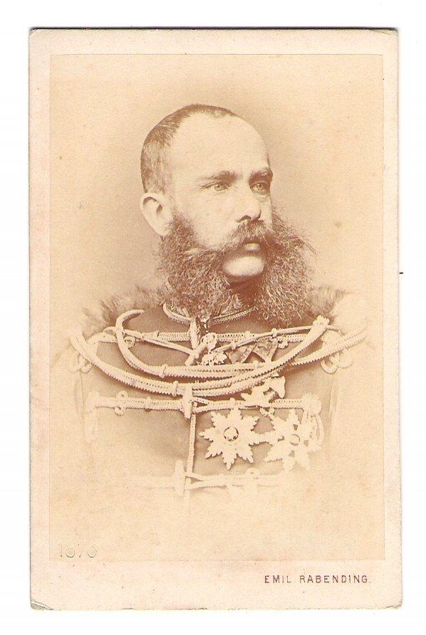 Plate photographs of Franz Joseph