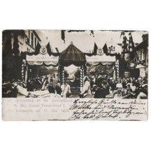 Franz Joseph in Litoměřice 1901 - rare photo