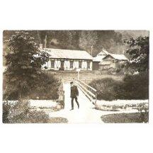 Franz Joseph on his estate in rest uniform