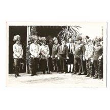 Franz Joseph , a photo with generals
