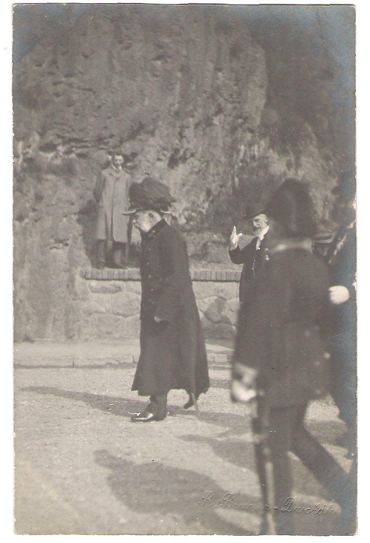 Franz Joseph on funeral suit - photo Dvorák