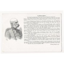 Franz Joseph and text ( german )