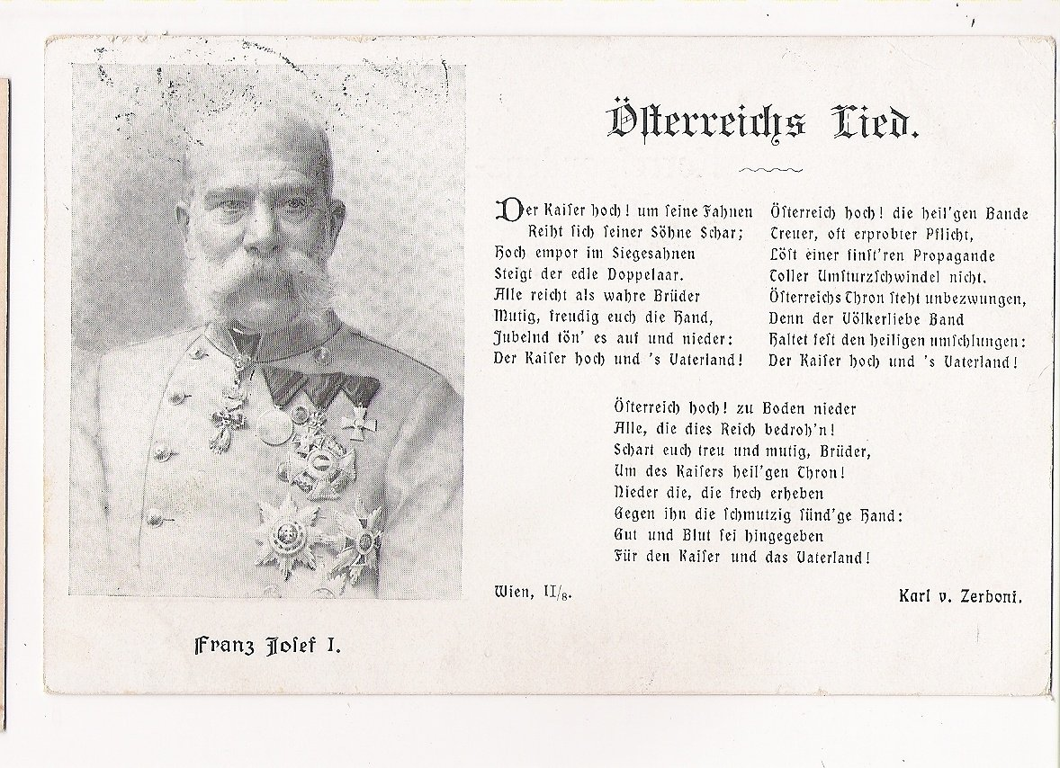 Franz Joseph and austrian song