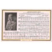 Franz Josef a text písně