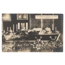Franz Josef v rakvi v Schönbrunnu ve svém pokoji, 2.tisk