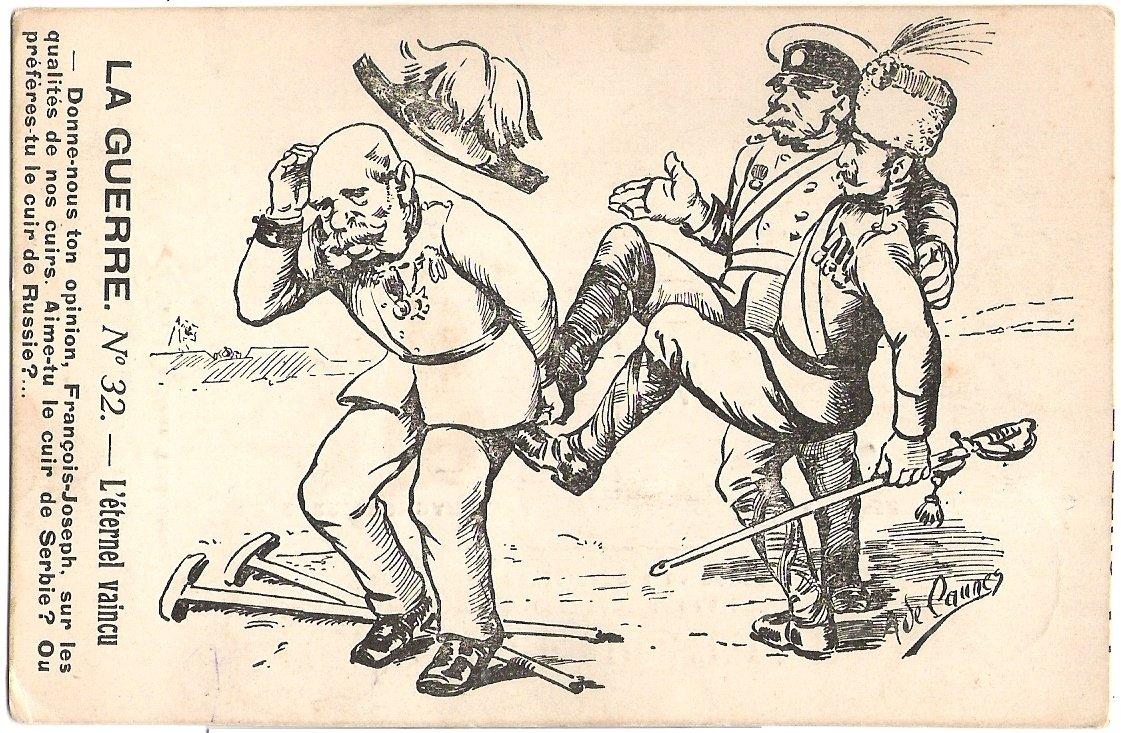 Franz Josef dostává za vyučenou