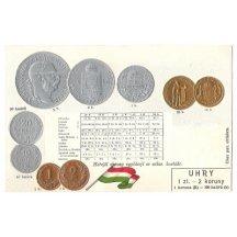 Mince Franz Josefa, maďarské vydání mincí
