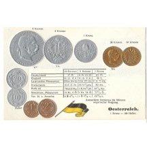Mince Franz Josefa, rakouské vydání mincí (2), varianta opisu