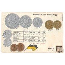 Mince Franz Josefa, rakouské vydání mincí (3), varianta opisu