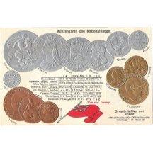 Pohlednice s mincemi- Velká Británie a Irsko