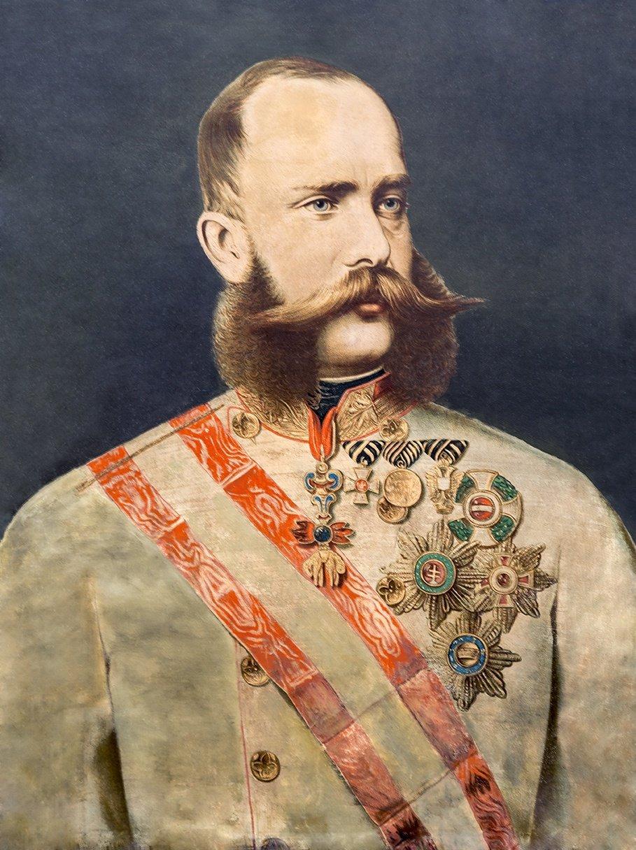 30. Franz Josef / obraz 60 cm x 46 cm
