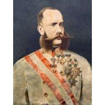 30.a Franz Josef / obraz 80 cm x 60 cm