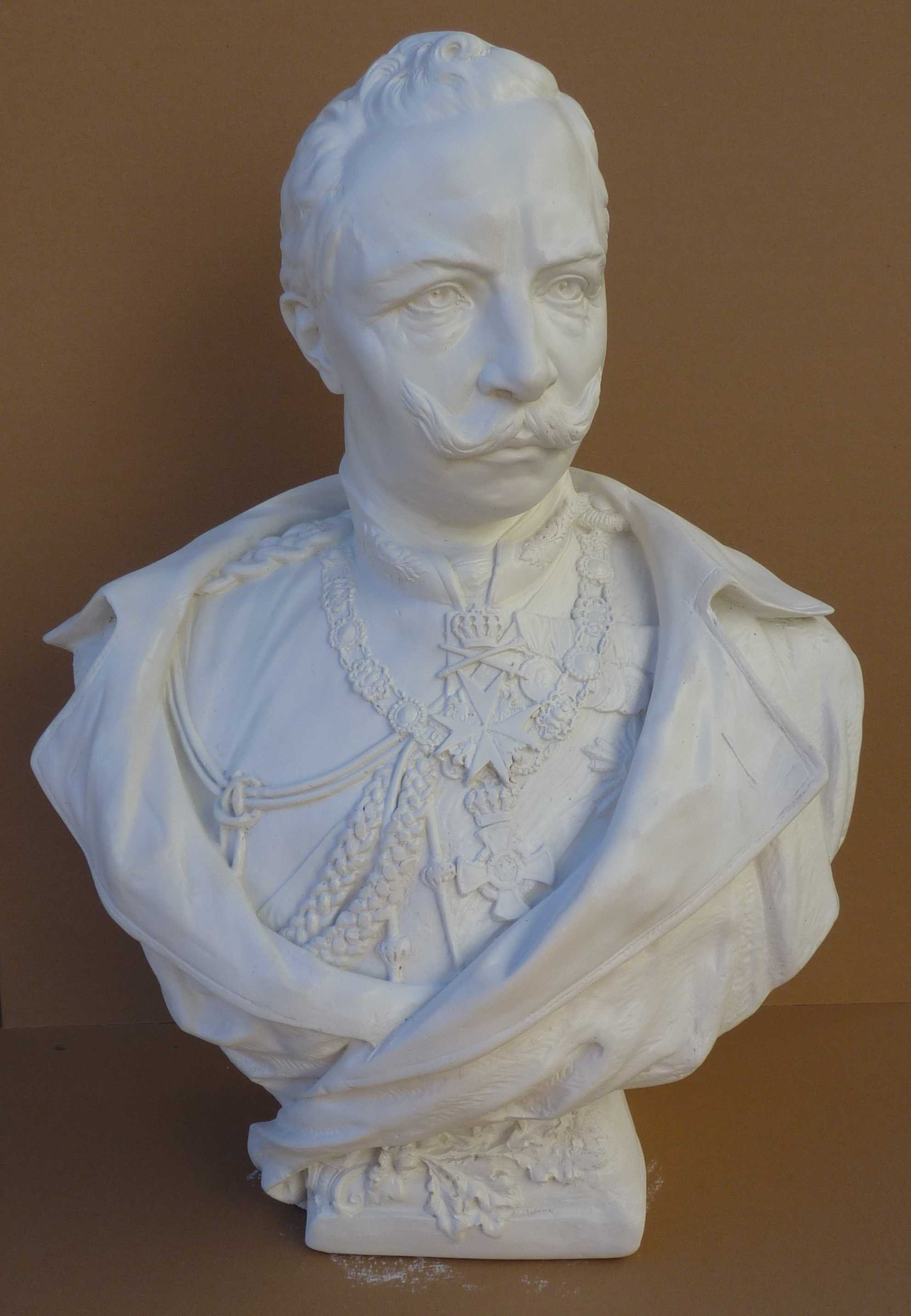 1aa. Bust of the Emperor Wilhelm II.