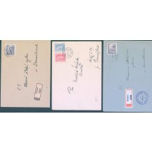 3 dopisy korespondence školy Stráž