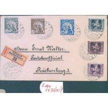 R dopis Liberec – 2. den vydání známek