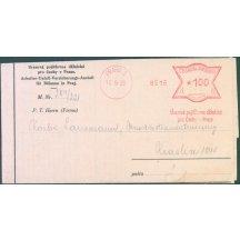 Úrazová pojišťovna dělnická - frankotyp