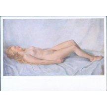 Erotická pohlednice – krása ženského těla – Německo