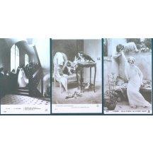 Umělecké pohlednice – 3 ks