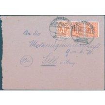 Dopis se zajímavou frankaturou